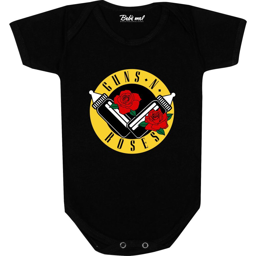 Body Bebê personalizado Banda Guns N´Roses