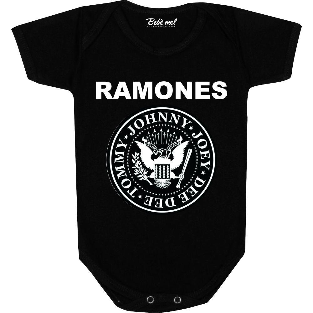 Body Bebê personalizado Ramones
