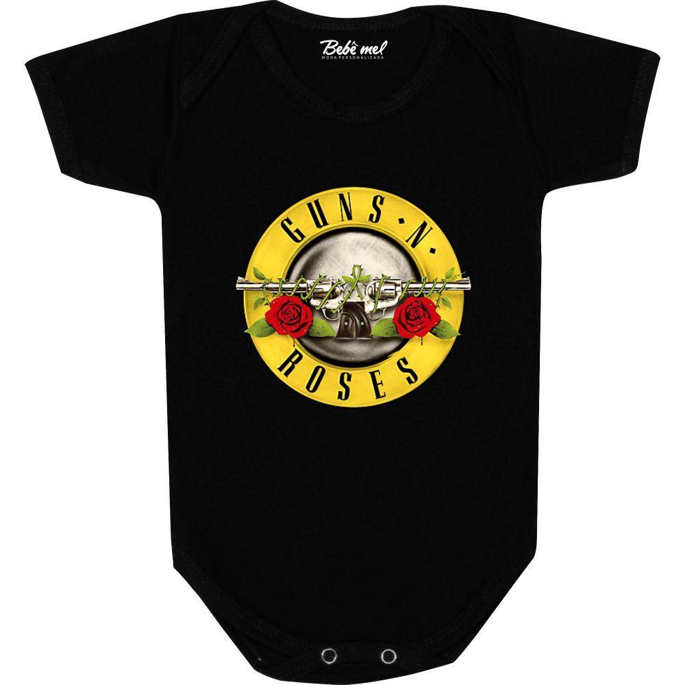 Body Bebê personalizado Guns N' Roses