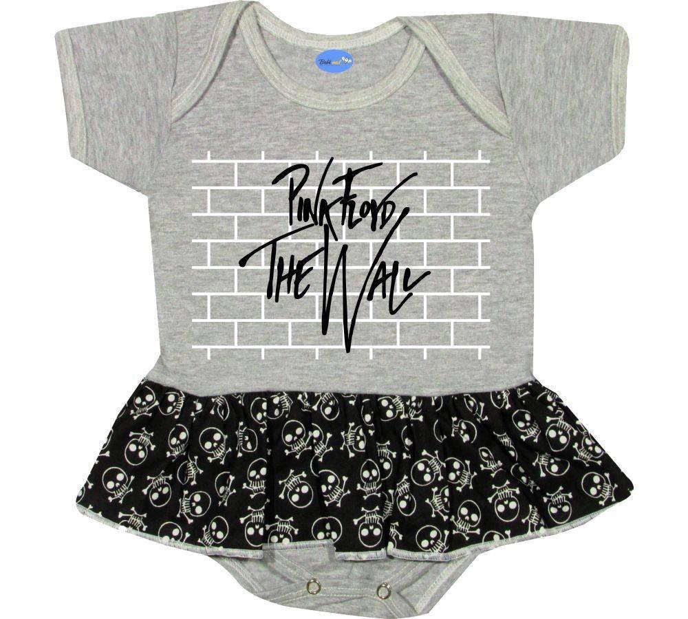 Body Saia Bebê personalizado Pink Floyd The Wall