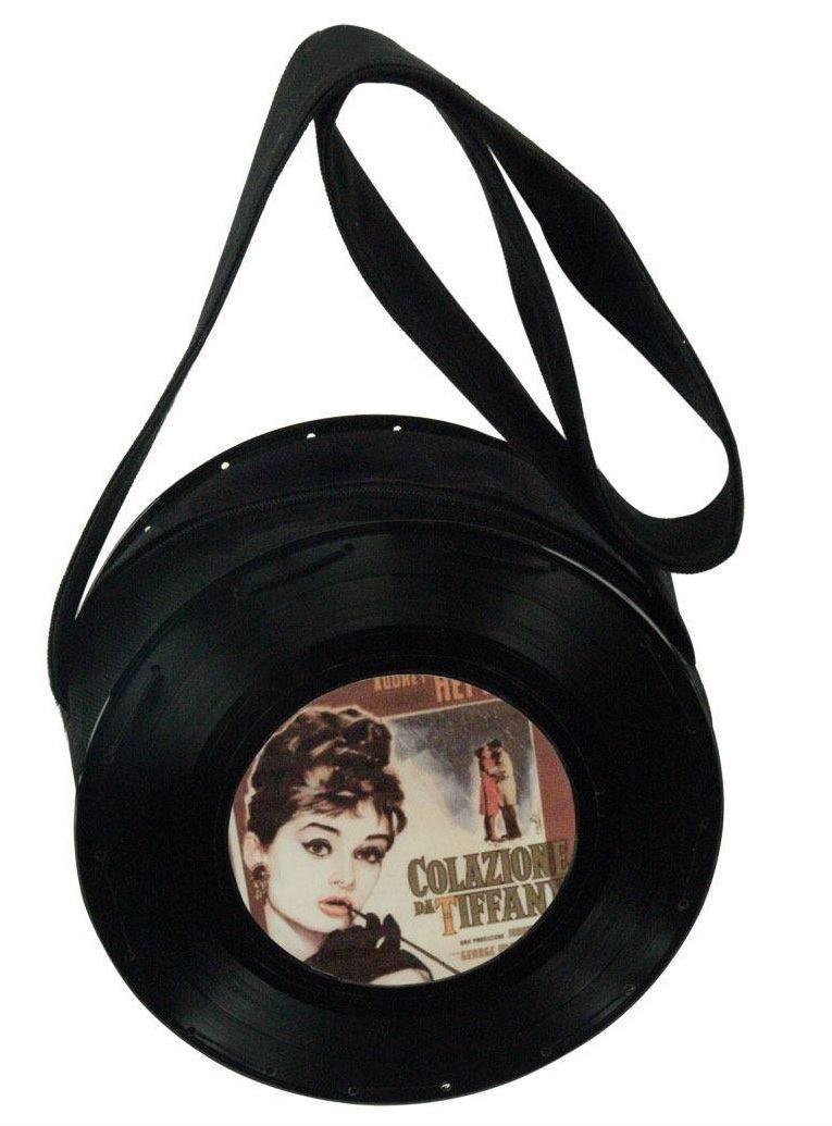 Bolsa Pequena Preta Audrey Hepburn