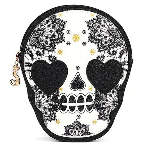 Bolsa Skull Heart