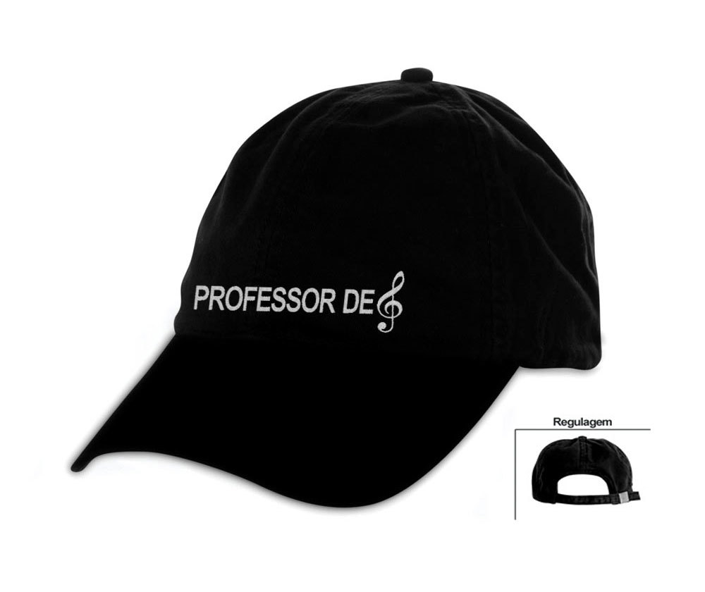 Boné bordado Professor