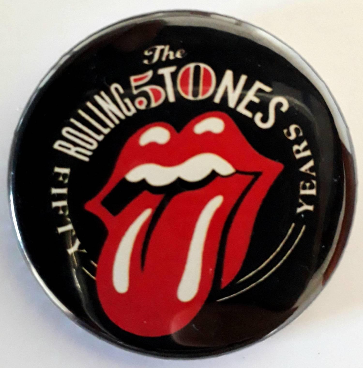 Botton Favartes Rolling Stones