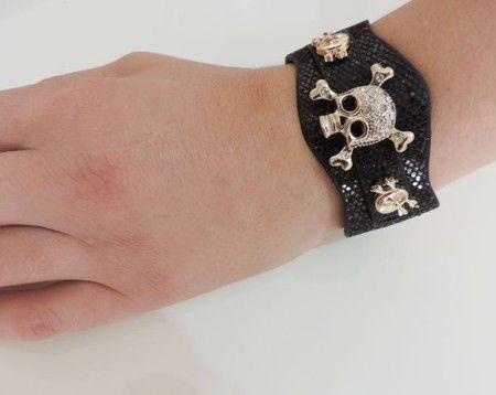 Bracelete Caveirinha
