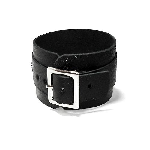 Bracelete Pequeno com Fivela Couro Rock Moto Clube - DEROCK Acessórios
