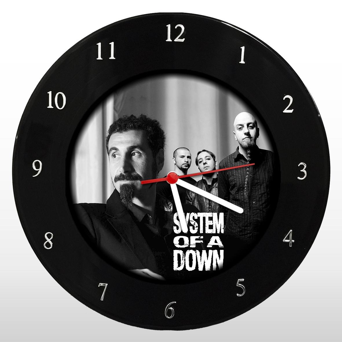 Relógio de Parede em Disco de Vinil System Of A Down - Mr. Rock