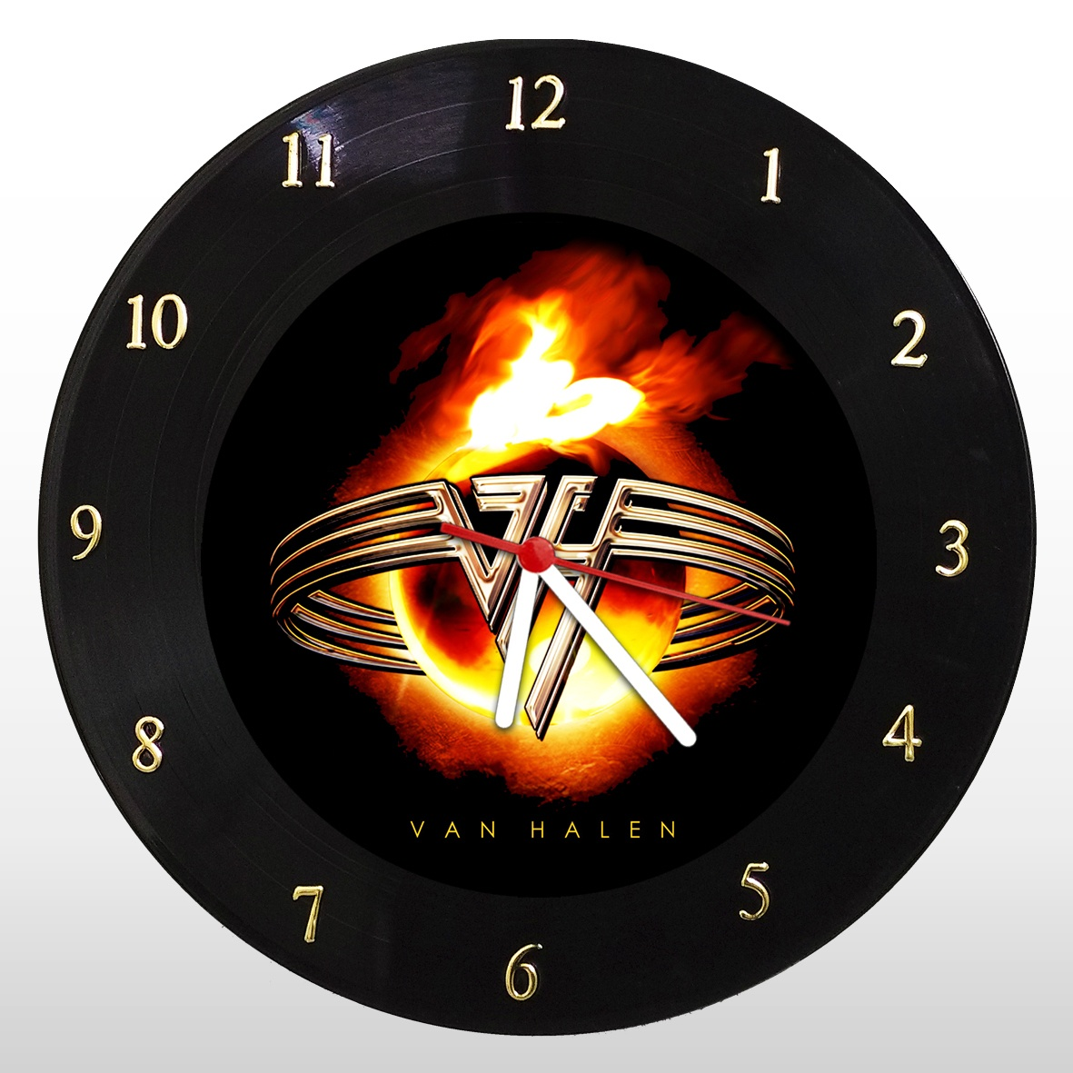 Relógio de Parede em Disco de Vinil Van Halen - Mr. Rock