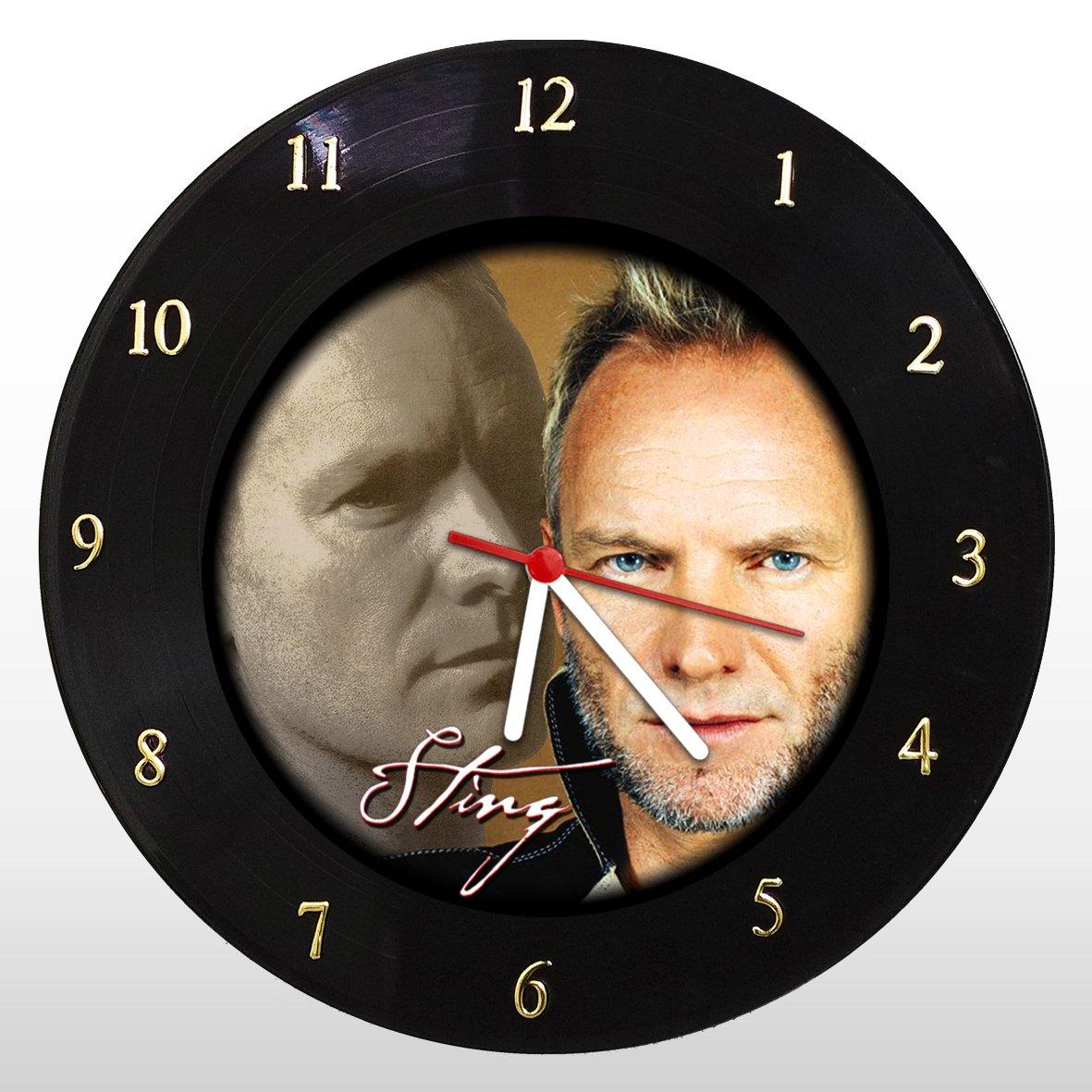 Relógio de Parede em Disco de Vinil Sting - Mr. Rock