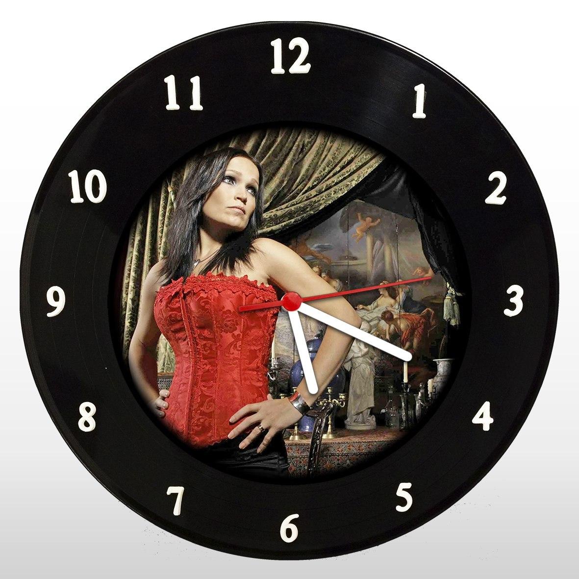 Relógio de Parede em Disco de Vinil Tarja - Mr. Rock