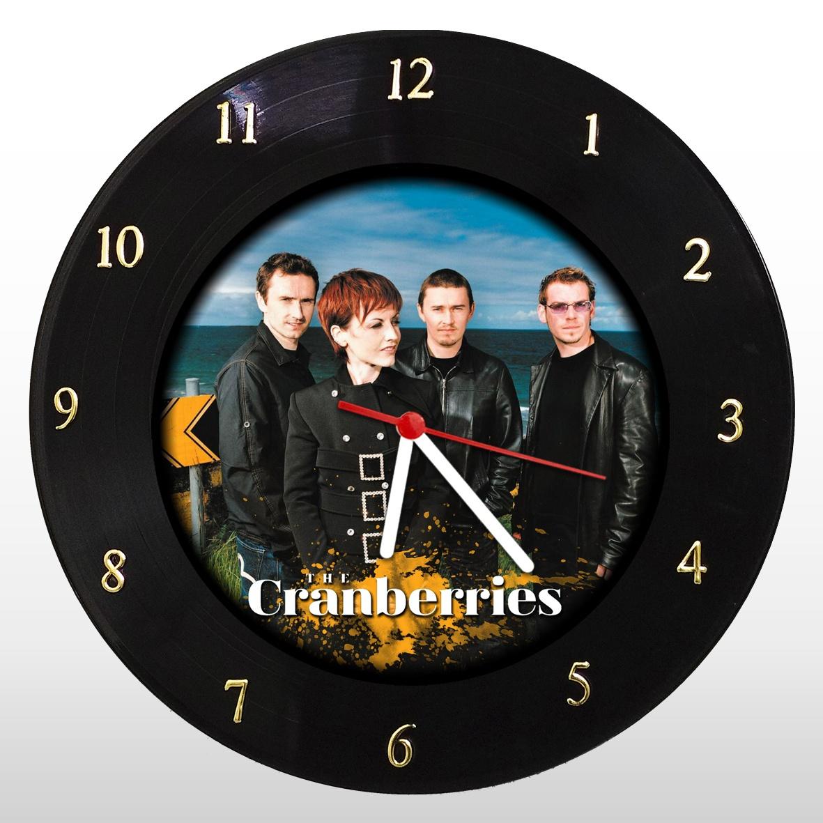 Relógio de Parede em Disco de Vinil The Cranberries - Mr. Rock