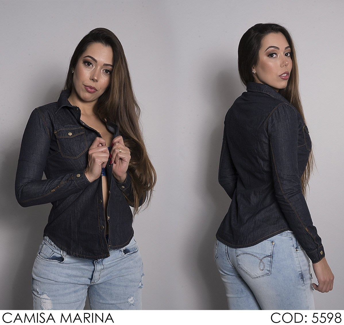 Camisa Darlook Marina [5598]