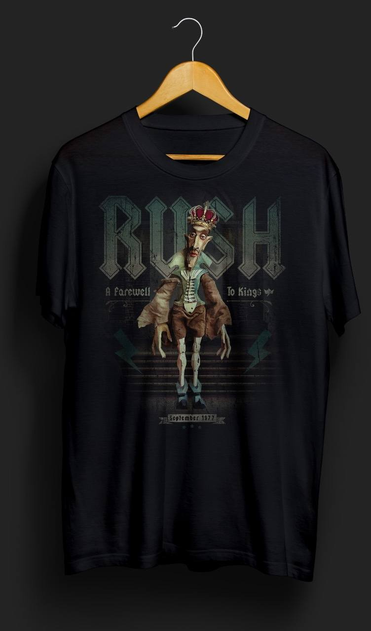 Camiseta A Farewell to Kings – King of Rock