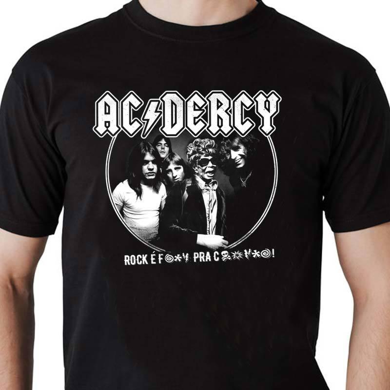 Camiseta AC/DERCY Masculina