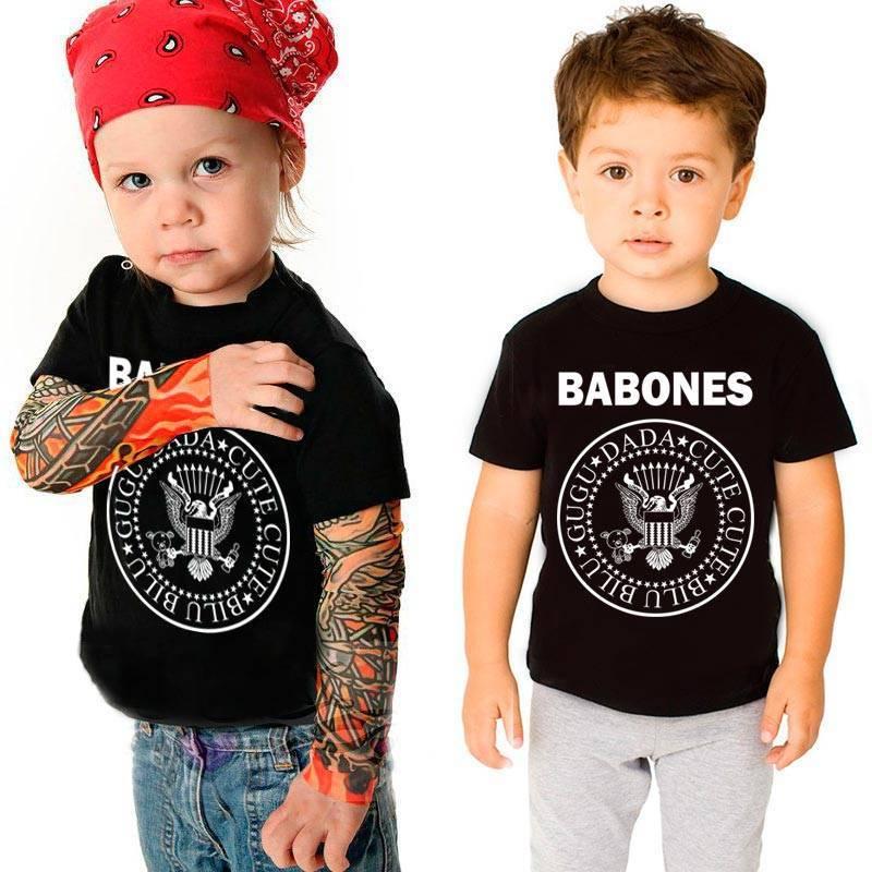 Camiseta Babones – Camisetas Roquenrou