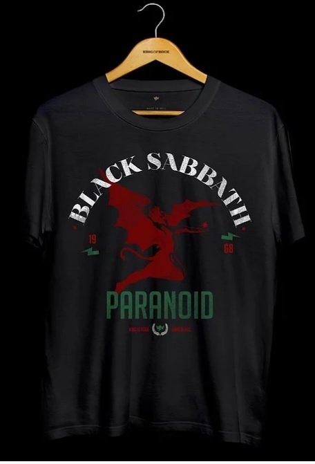 Camiseta Masculina Black Sabbath - Skull Collection
