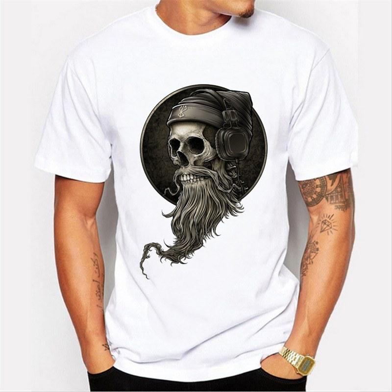Camiseta Caveira Beard