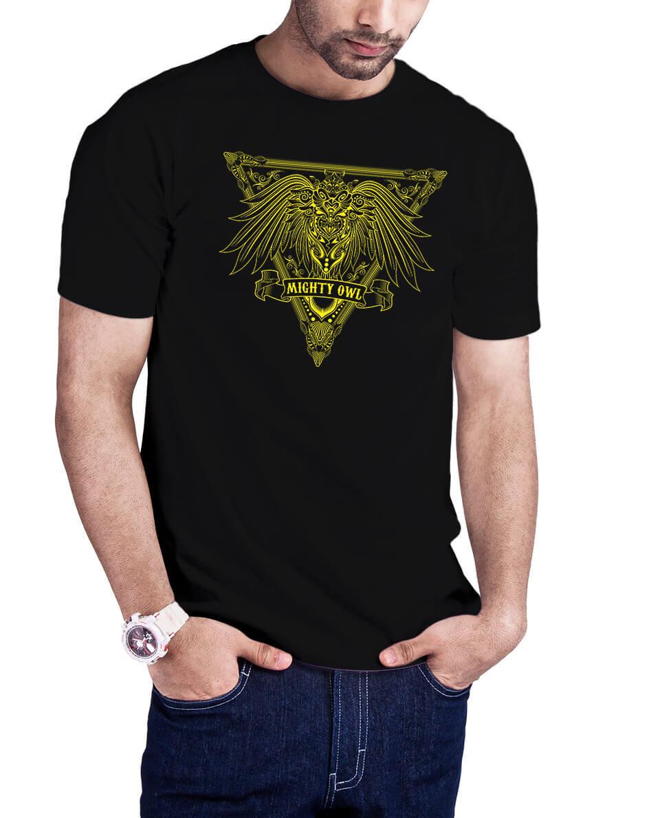 Camiseta Coruja Tribal