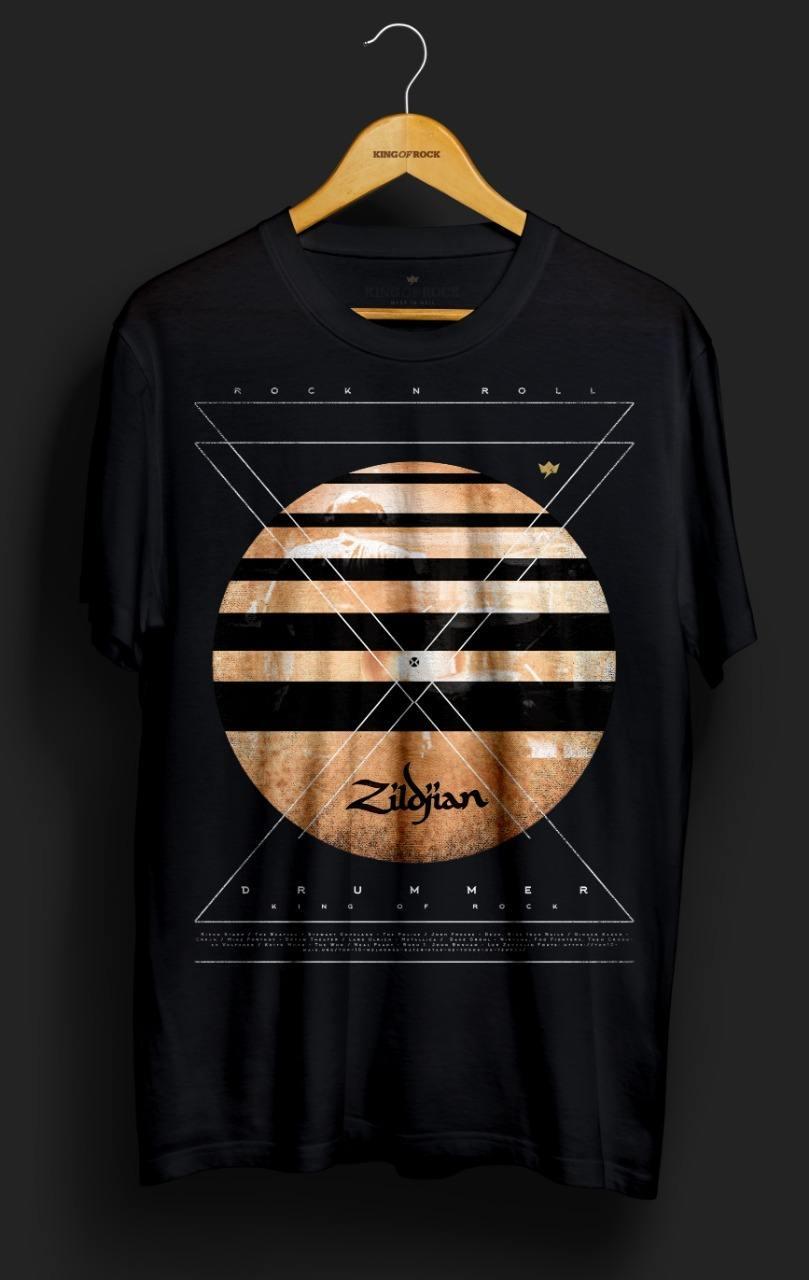 Camiseta Drummer – King of Rock