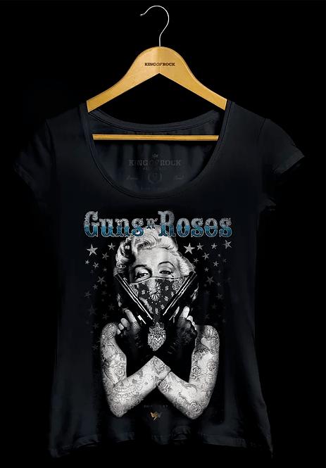 Camiseta Feminina Guns n Roses
