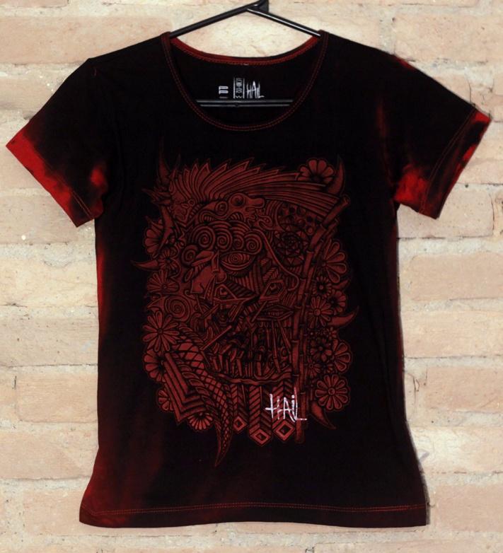 Camiseta Feminina Political Punk - Hail Custom Wear