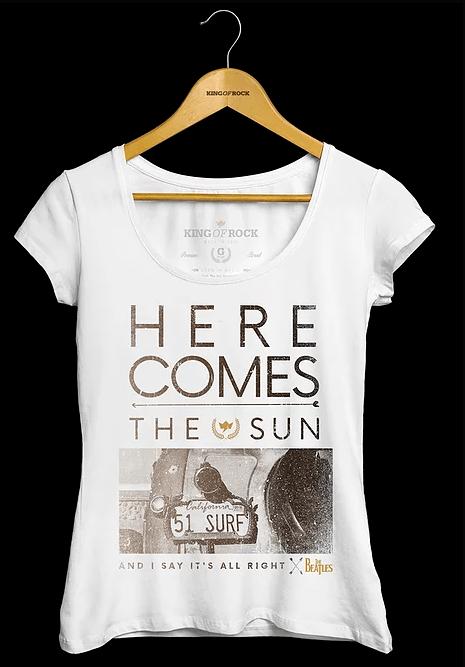 Camiseta Feminina The Beatles