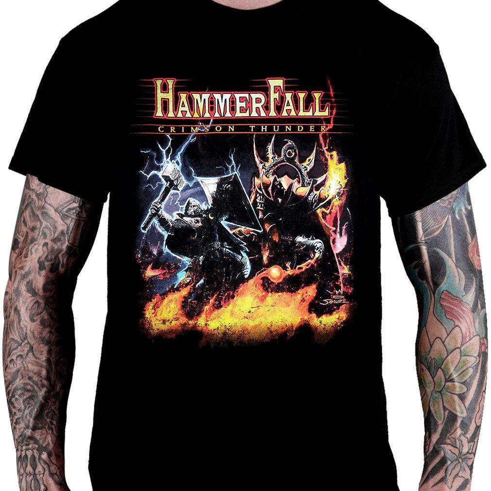 Camiseta HAMMERFALL – Crimson Thunder