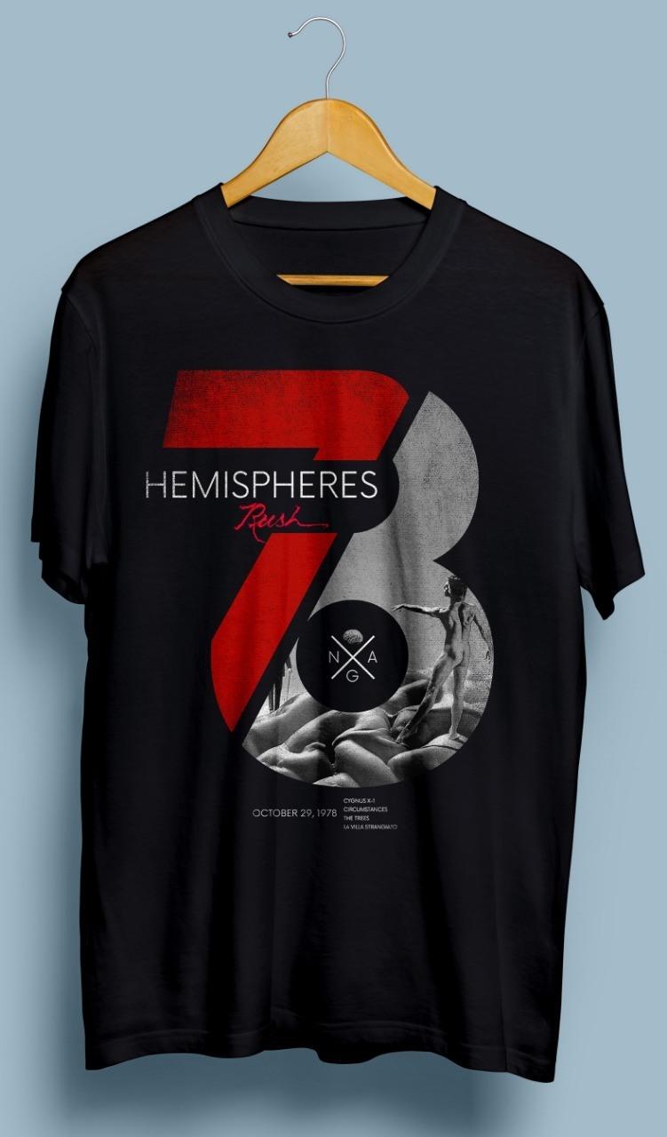 Camiseta Hemisphere – King of Rock