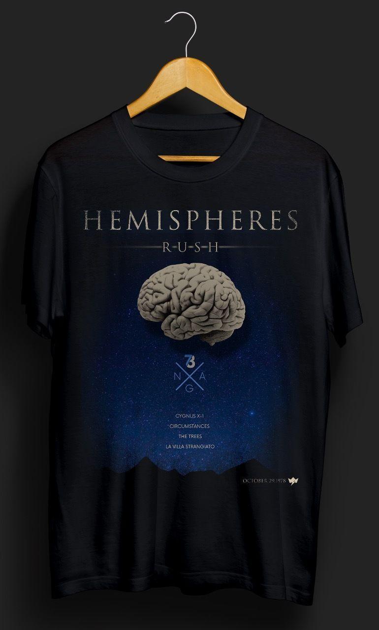 Camiseta Hemispheres – King of Rock