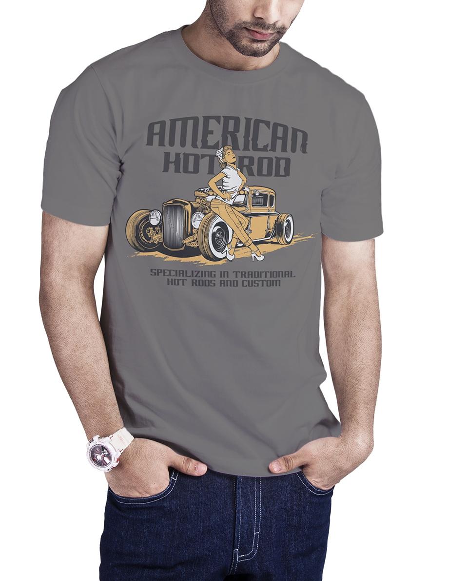 Camiseta Hot Rod