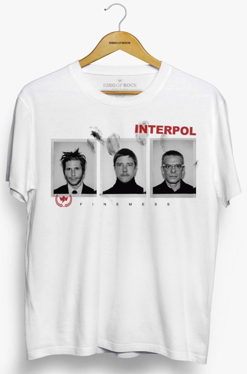 Camiseta Interpol