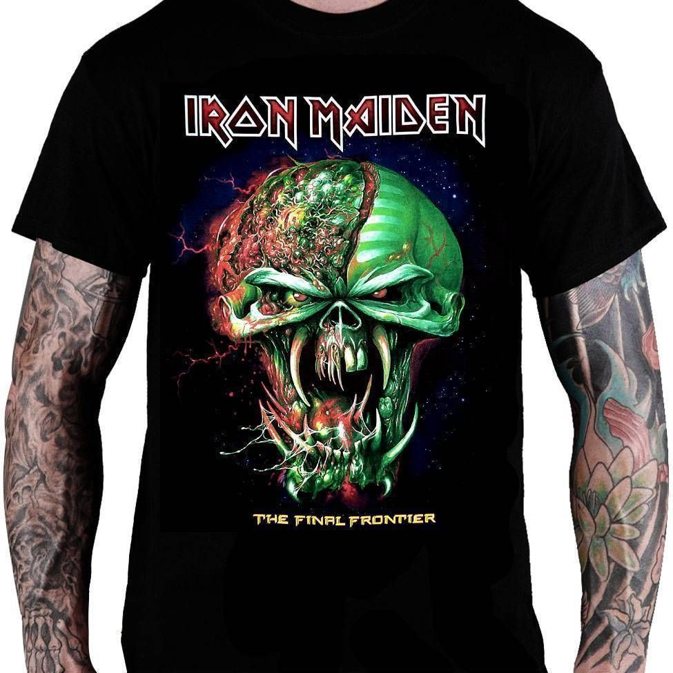 Camiseta Iron Maiden – The Final Frontier Eddie