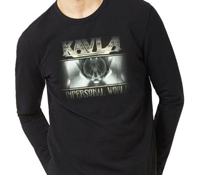 Camiseta Kavla - Manga Longa
