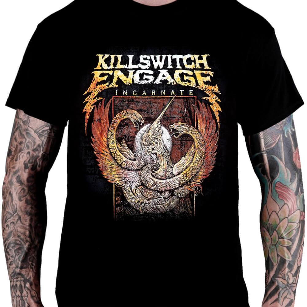 CamisetaKILLSWITCH ENGAGE - Incarnate