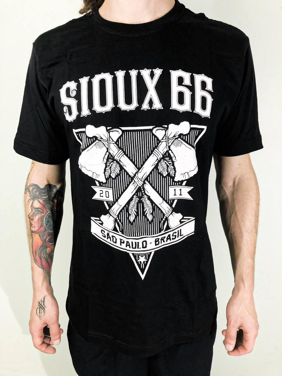 Camiseta Sioux 66 Manga Curta