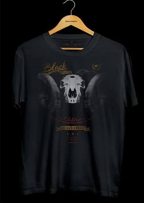Camiseta Masculina Black Sabbath