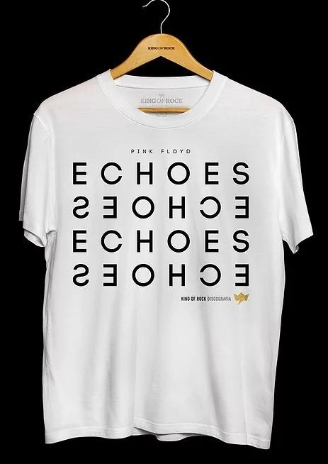 Camiseta Masculina Pink Floyd - Echoes