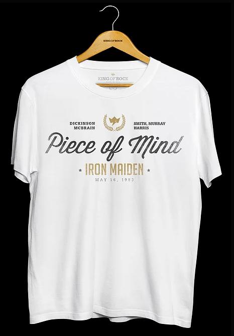 Camiseta Masculina Iron Maiden
