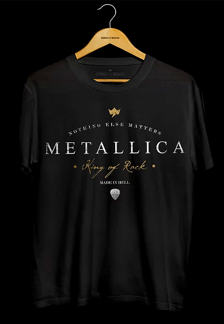 Camiseta Masculina Metallica - Nothing Else Matters