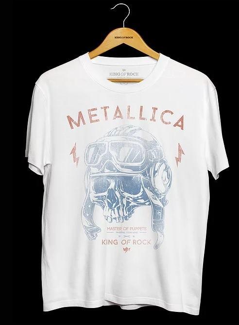 Camiseta Masculina Metallica