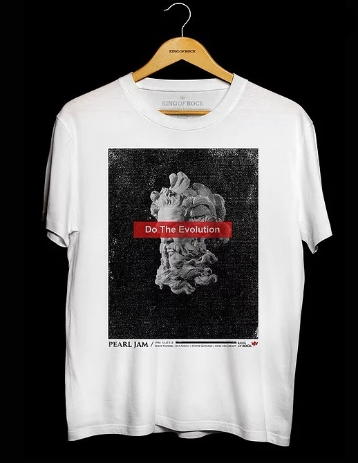Camiseta Masculina Pearl Jam