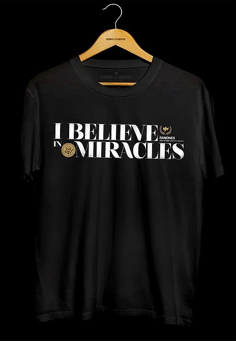 Camiseta Masculina Ramones Miracles