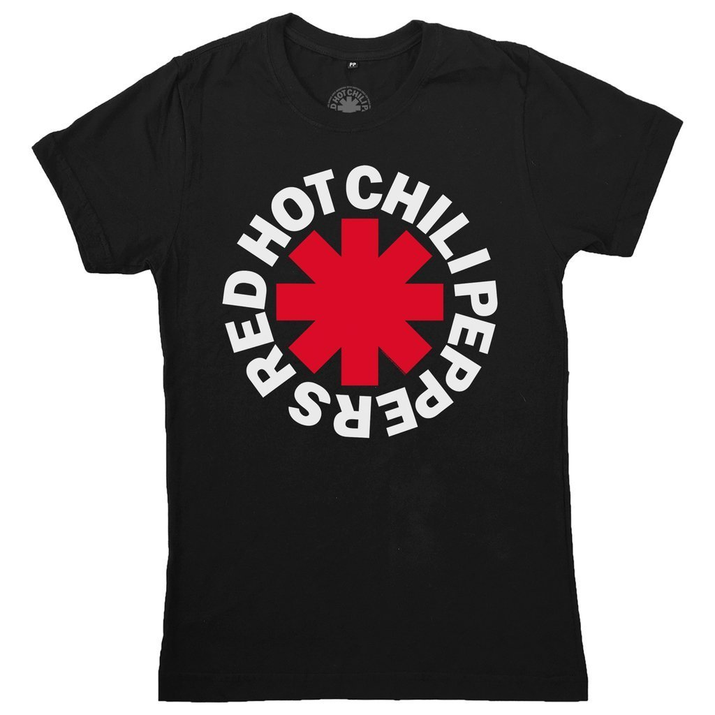 Camiseta Masculina Red Hot Chili Peppers - Asterisk Logo