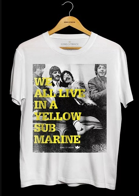 Camiseta Masculina The Beatles