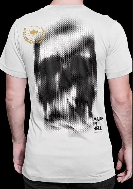 Camiseta Masculina Sections - Skull Collection