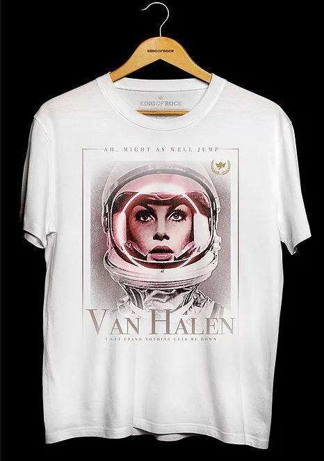 Camiseta Masculina Van Halen