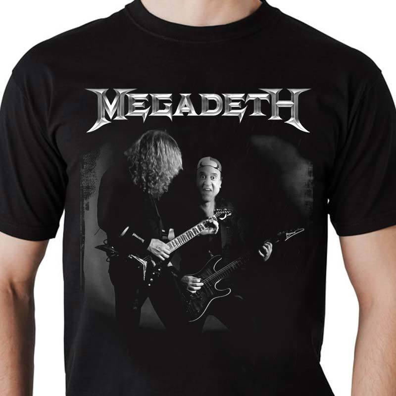 Camiseta Megadeth Kiko Masculina