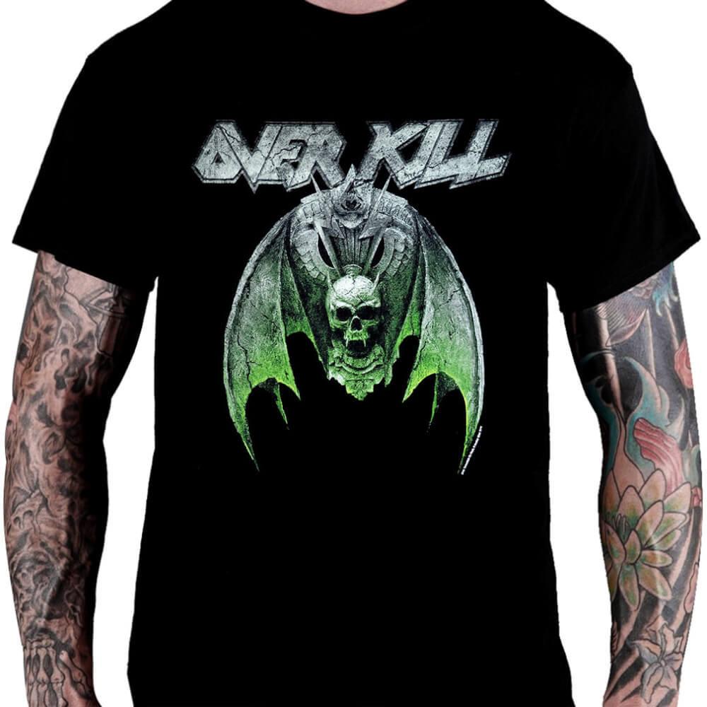 CamisetaOVERKILL – White Devil Armory