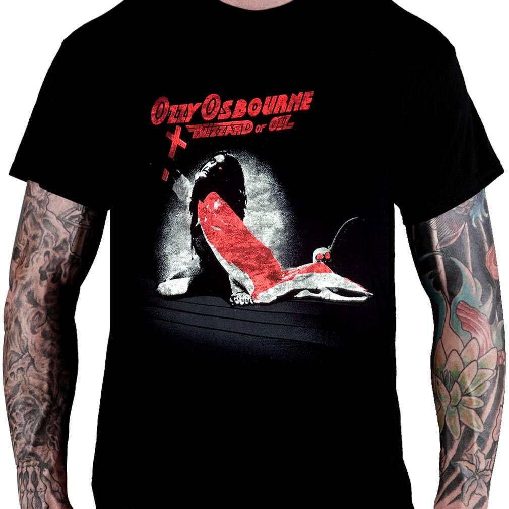 CamisetaOZZY OSBOURNE - Blizzard of Ozz