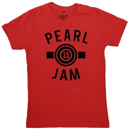 Camiseta Pearl Jam - Sticker